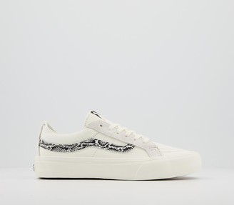 Vans Sk8 Low Trainers Snake Marshmallow