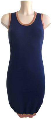 DSQUARED2 Blue Wool Dresses