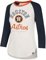 '47 Women's Houston Astros Vintage Raglan T-Shirt