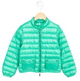 Moncler Girls' Lightweight Puffer Jacket