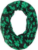 David & Young Women's St. Patricks Day Shamrock Infinity Loop Scarf