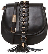 Foley + Corinna La Trenza Leather Saddle Bag