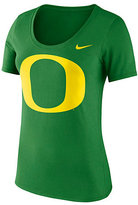 Nike Women's Oregon Ducks Logo Scoopneck Tee