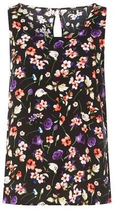 Dorothy Perkins Womens **Vero Moda Black Floral Top, Black