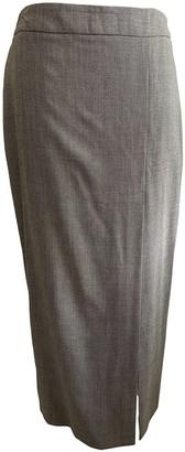 Kenzo Brown Wool Skirt for Women Vintage