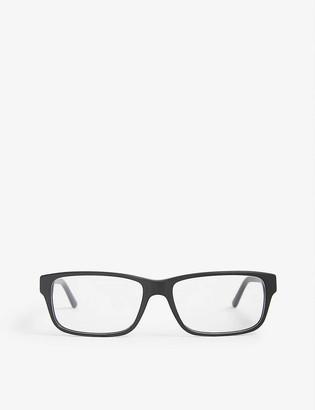 Prada Pr16mv Heritage rectangle-frame glasses