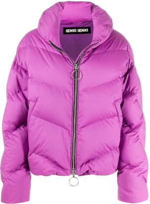 Ienki Ienki Dahlia high-neck puffer jacket