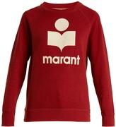 Etoile Isabel Marant Milly logo-appliqué cotton-blend sweatshirt