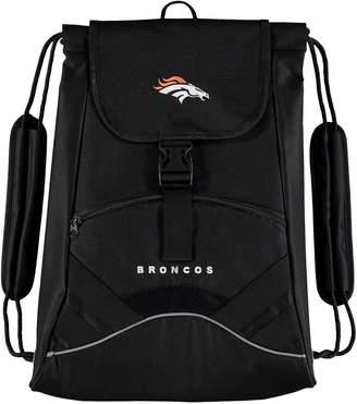 Northwest Company The Black Denver Broncos Static Drawstring Backpack
