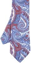 J.Mclaughlin Linen Tie In Paisley