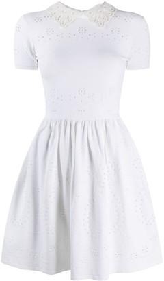 Valentino Peter Pan Collar Dress