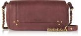 Jerome Dreyfuss Bob Bordeaux Leather Mini Shoulder Bag