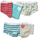 Heart girl shorts (5-pack)