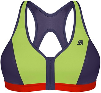 Shock Absorber Active Zipped Sports Bra, Non-Underwired