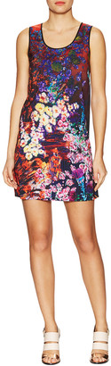 Clover Canyon Bright Blooms Shift Dress