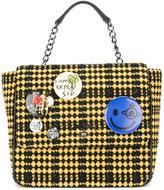 Vivienne Westwood tweed backpack