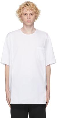 Juun.J White Poplin T-Shirt