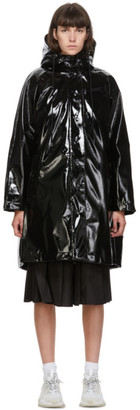 Moncler Black Down Pott Coat
