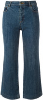 A.P.C. flared cropped jeans - women - Cotton - 27