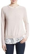 Joie Women's Zaan K Layered Look Sweater