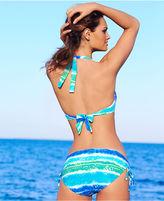 CoCo Reef Swimsuit, Halter Printed Bikini Top