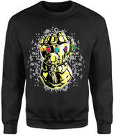 Marvel Avengers Infinity War Fist Comic Sweatshirt - Black