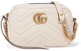 Gucci Gg Marmont Camera Mini Quilted Leather Shoulder Bag - Cream