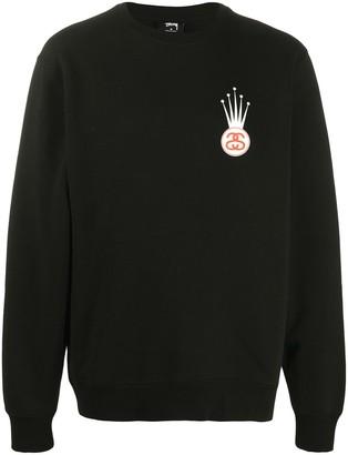Stussy Crown Print Sweatshirt