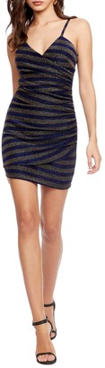 XOXO Ruched Bodycon Mini Dress