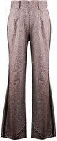 Olivia Annabelle Grove High-Waisted Tweed Trouser