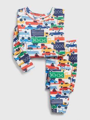 Gap babyGap Automobile Graphic Long Sleeve PJ Set