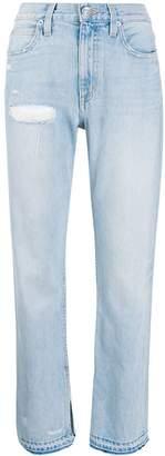 Slvrlake Rider high-rise straight jeans