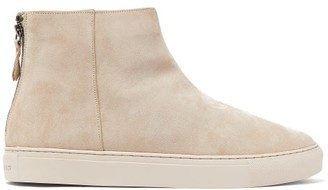 Grenson Sneaker 27 Suede High-top Trainers - Mens - Beige