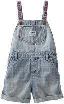 Osh Kosh Oshkosh Embroidered Denim Shortalls - Baby Girls 3m-24m