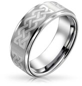Bling Jewelry Celtic Knot Tungsten Ring 8mm With Free Engraving