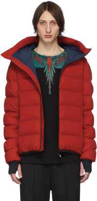 MONCLER GRENOBLE Red Down Lagoria Jacket