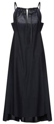 Nude 3/4 length dress