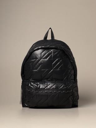 Eastpak Puffa Padded Backpack In Padded Nylon
