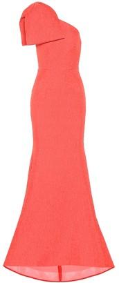 Rebecca Vallance Francesca one-shoulder gown