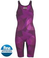 Arena Women's Limited Edition Carbon Air SL Open Back Tech Suit Swimsuit 8154208