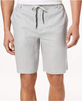 Tasso Elba Men's Drawstring Linen Shorts, Created for Macy's