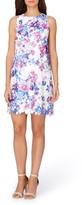 Tahari Petite Women's Floral Trapeze Dress
