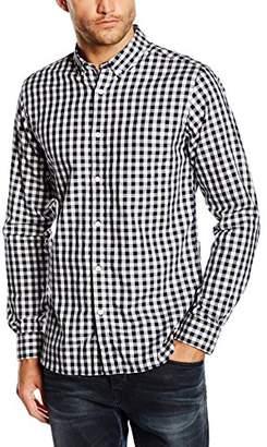 Jack and Jones Men's Layne Checkered Long Sleeve Casual Shirt