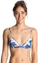 Roxy Women's Noosa Floral Fixed Tri Bikini Top
