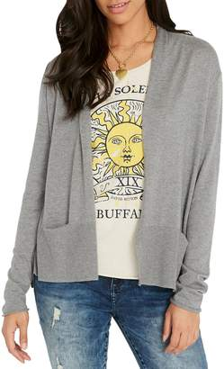 Buffalo David Bitton Surface Open Front Cardigan