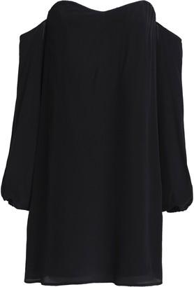 Bailey 44 Off-the-shoulder Silk Mini Dress