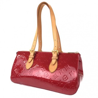 Louis Vuitton Rosewood Red Patent leather Handbags