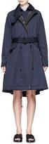 Sacai Double-breasted interior twill coat