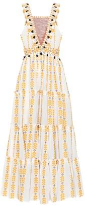 Dodo Bar Or Printed cotton maxi dress