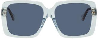 Gucci Blue Square Sunglasses